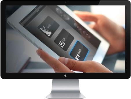 Betjening med iPad