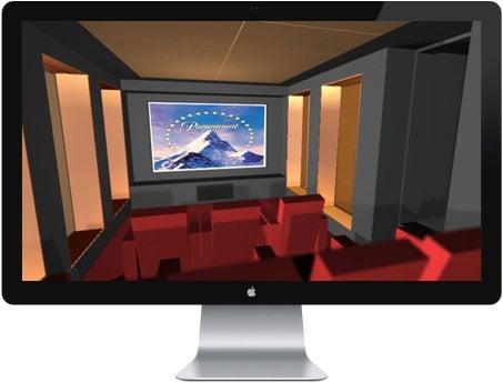 Design og akustik i hjemmebiograf