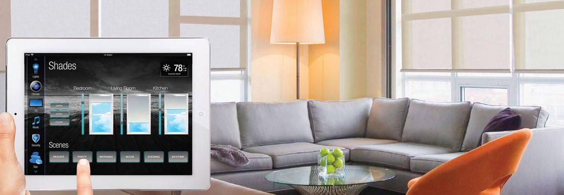 Betjening af Intelligent Bolig fra iPad