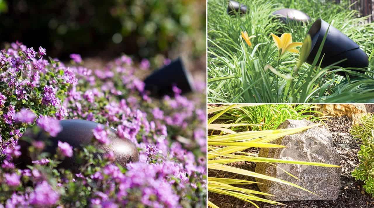Lyd i haven og på terrassen