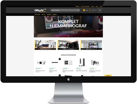 Besøg vores webshop - BilligAV.dk