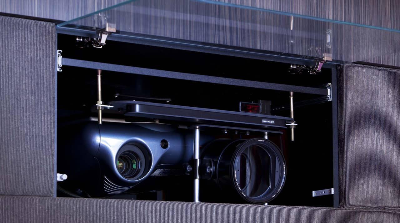 Cinemascope Projektor Hjemmebiograf
