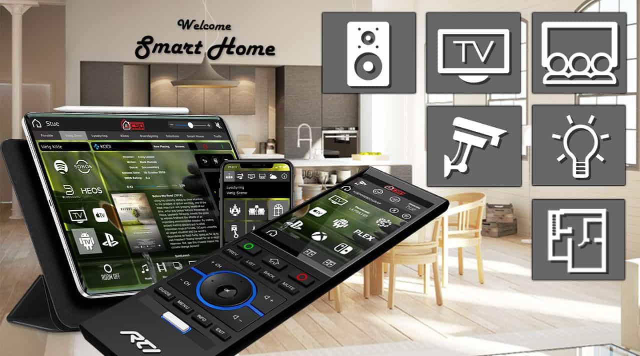 Smart Home Moderne Bolig