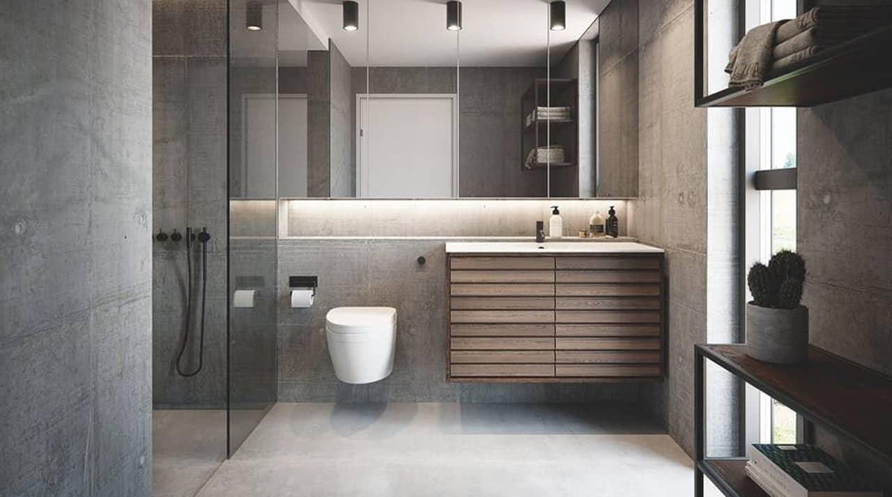 Usynlig Højttalere på badeværelset