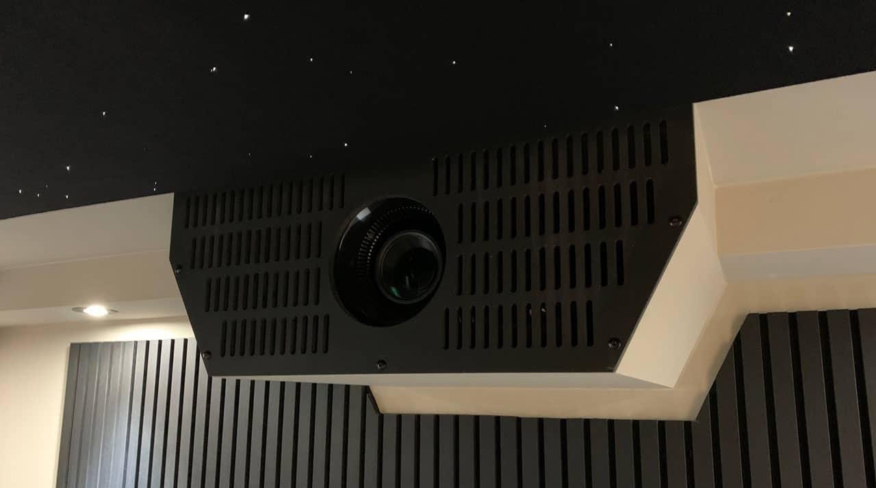 Kasse til projektor